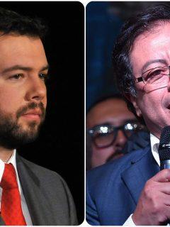 Carlos Fernando Galán y Gustavo Petro.