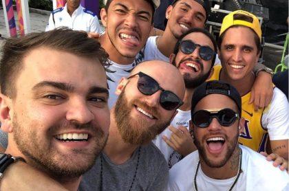 Neymar y sus amigos