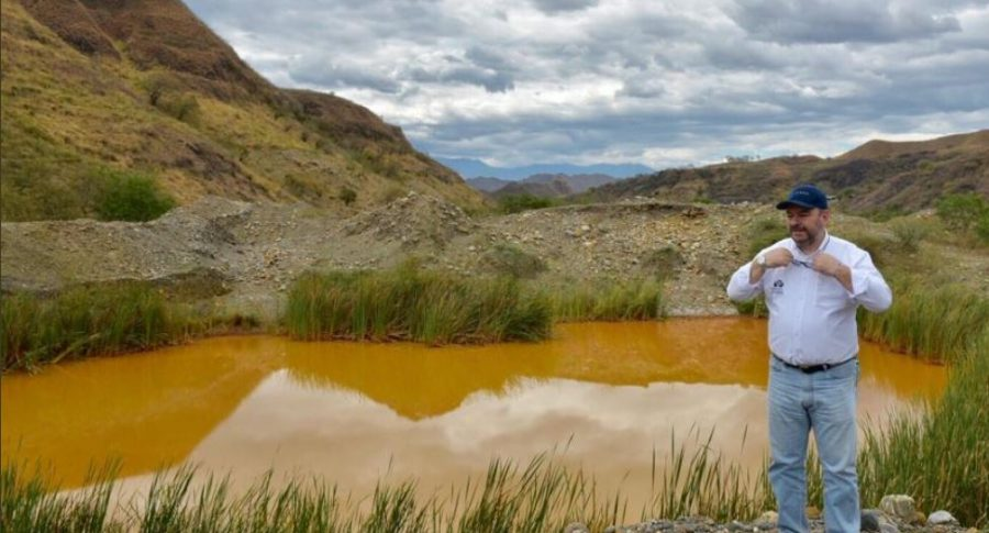 Contaminación por minería