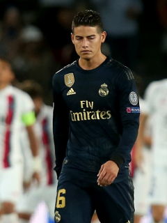 Triste regreso de James a la Champions League: Real Madrid perdió goleado contra el PSG