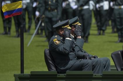 Comandantes militares colombianos