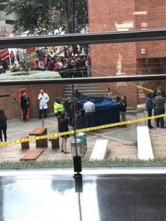 Hombre cayó desde un edificio de la Universidad Javeriana