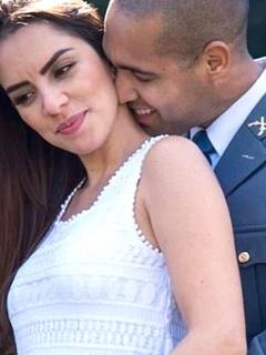 Bombero brasileño se convirtió en padre y 'viudo' a la vez, minutos antes de su boda