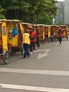 Transporte informal en Bogotá