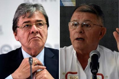Carlos Holmes Trujillo y Rodrigo Granda