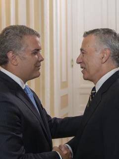 Tres nuevos embajadores, incluido el de EE.UU., le presentaron credenciales al presidente