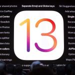 iOS 13 de Apple