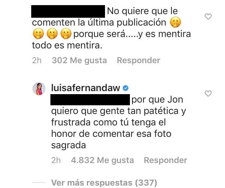Respuesta de Luisa Fernanda W