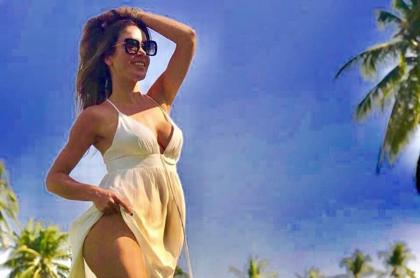 Nataly Umaña, actriz.