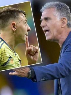 Destapan detalles de supuesta pelea entre Santiago Arias y Carlos Queiroz