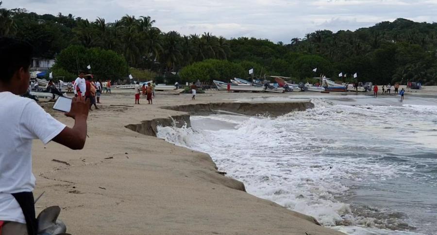 Bahía principal de Puerto Escondido