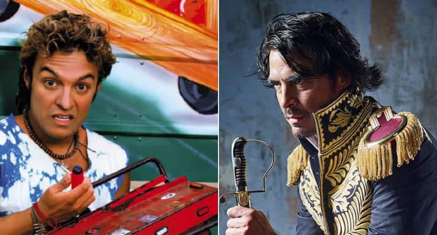 Julián Román y Luis Gerónimo Abreu, actores.