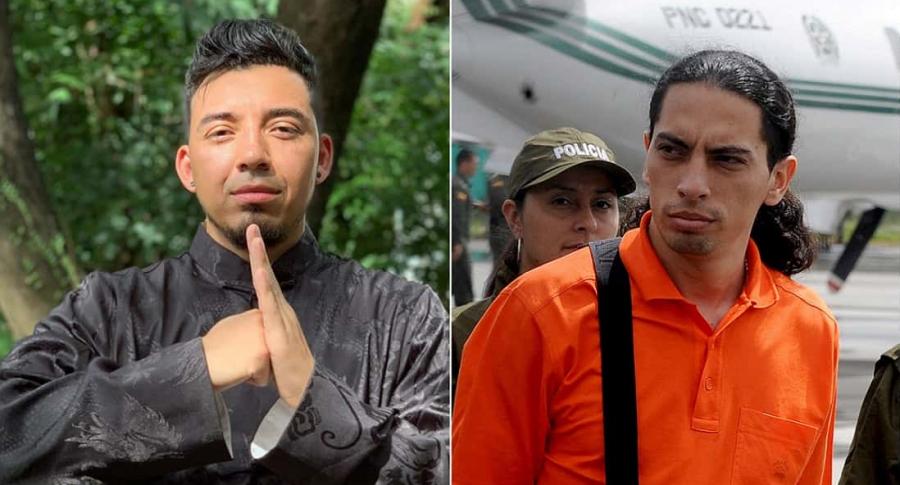 'Lokillo', humorista, y David Murcia Gúzman, cabeza de DMG.