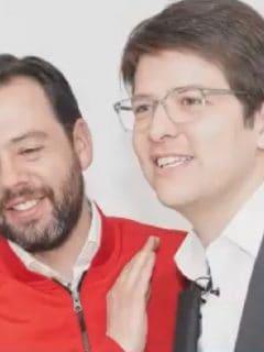 [Video] Galán visitó sedes de sus rivales, y solo lo atendió Miguel Uribe: ¿lo convenció?