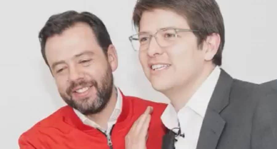 Carlos Fernando Galán y Miguel Uribe Turbay.