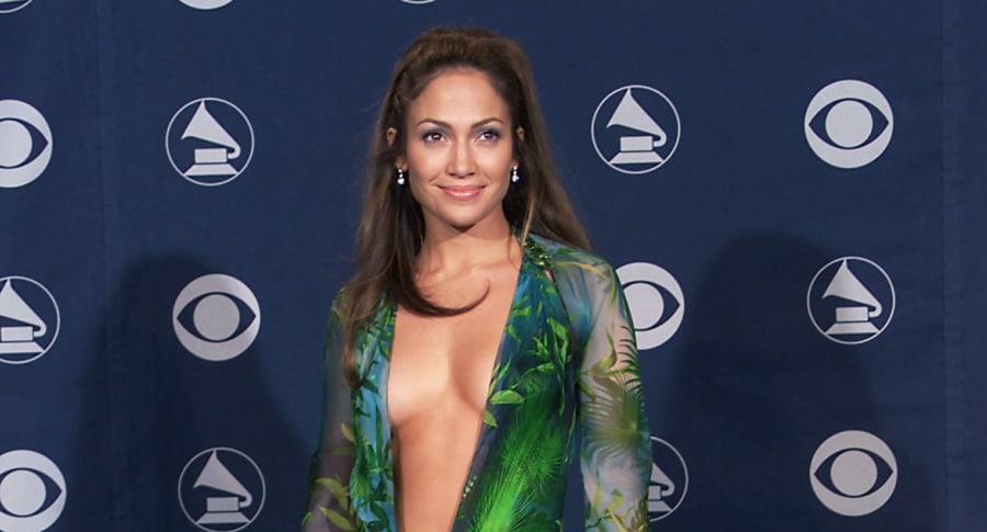 Jennifer Lopez en los Grammy del 2000