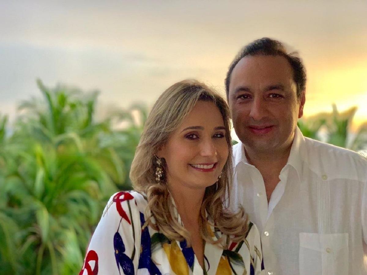 Inés María Zabaraín y Jorge Alfredo Vargas