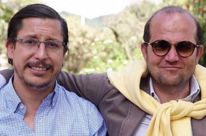 Daniel Samper y Alejandro Riaño