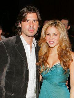 Antonio de la Rúa y la cantante Shakira.