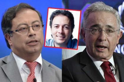 Gustavo Petro, Daniel Quintero y Álvaro Uribe