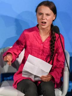 Duque, presidentes y joven activista Greta Thunberg claman por pacto climático