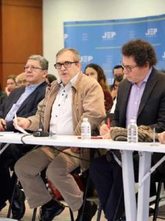 Jefes de Farc en la JEP