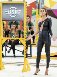 Andrea Serna en el 'Desafío'.