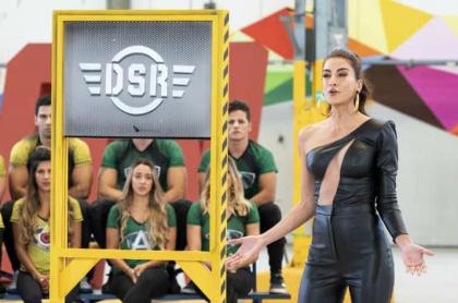 Andrea Serna en el 'Desafío'