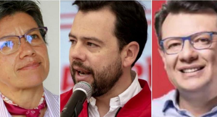 Candidatos puntean por Alcaldía de Bogotá