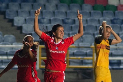 Final Liga Águila femenina 2019-América femenino