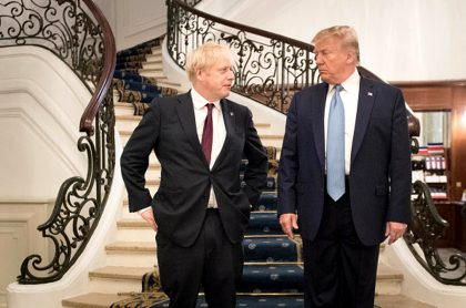 Trump y Johnson