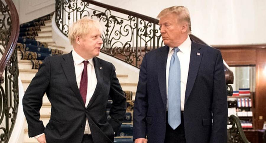 Trump y Johnson