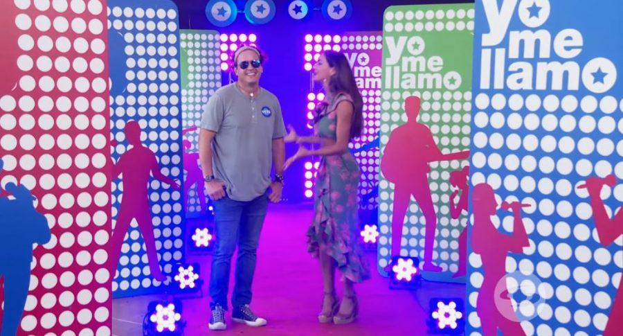 Marcos Gómez, actor, y Valerie Domínguez, presentadora.