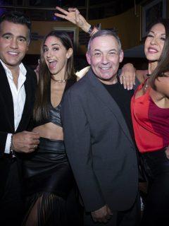 Carlos Calero, Valerie Domínguez, César Escola y Amparo Grisales, de 'Yo me llamo'