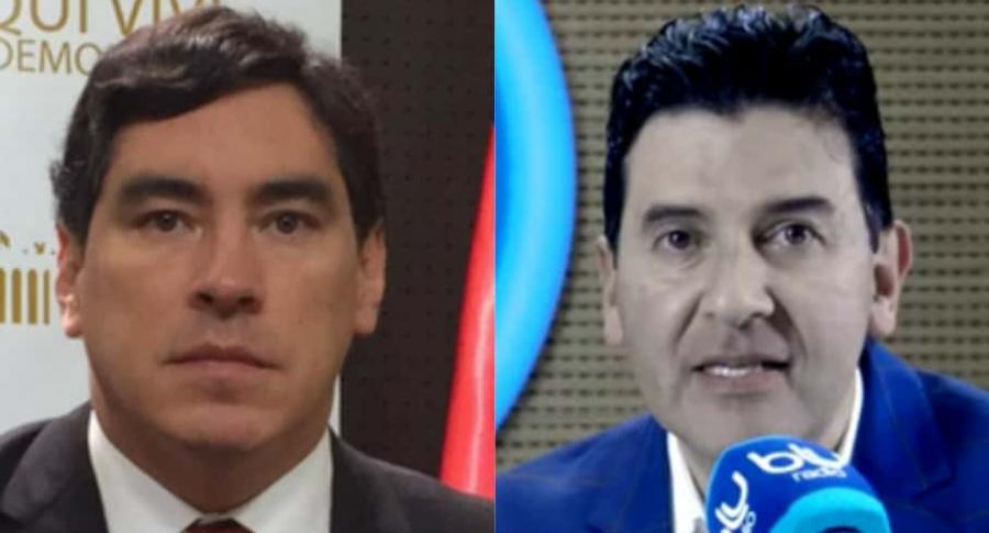Álvaro Hernán Prada y Néstor Morales