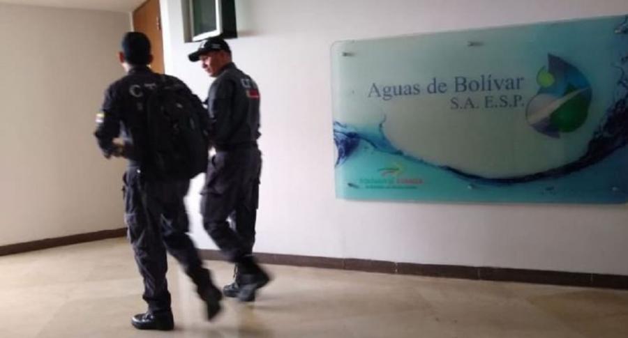 Allanamiento en Aguas de Bolívar