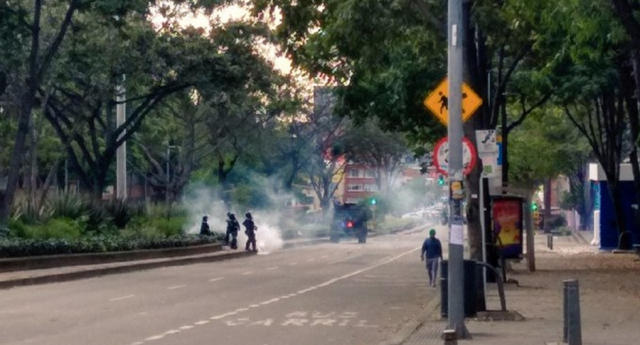 Disturbios en la Universidad Pedagógica