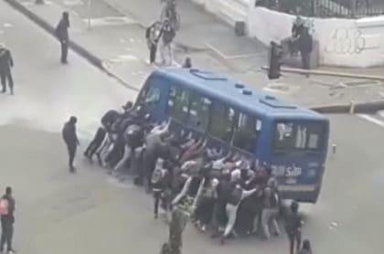 Bus del SITP.