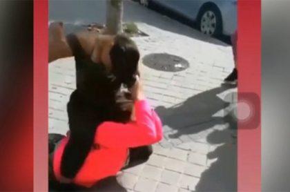 Golpiza a niña en Madrid, España