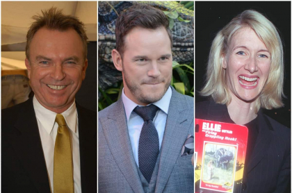 Sam Neill / Chris Pratt / Laura Dern