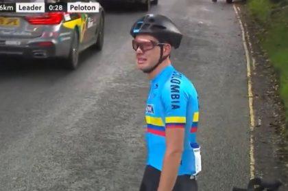 Germán Gómez, ciclista colombiano
