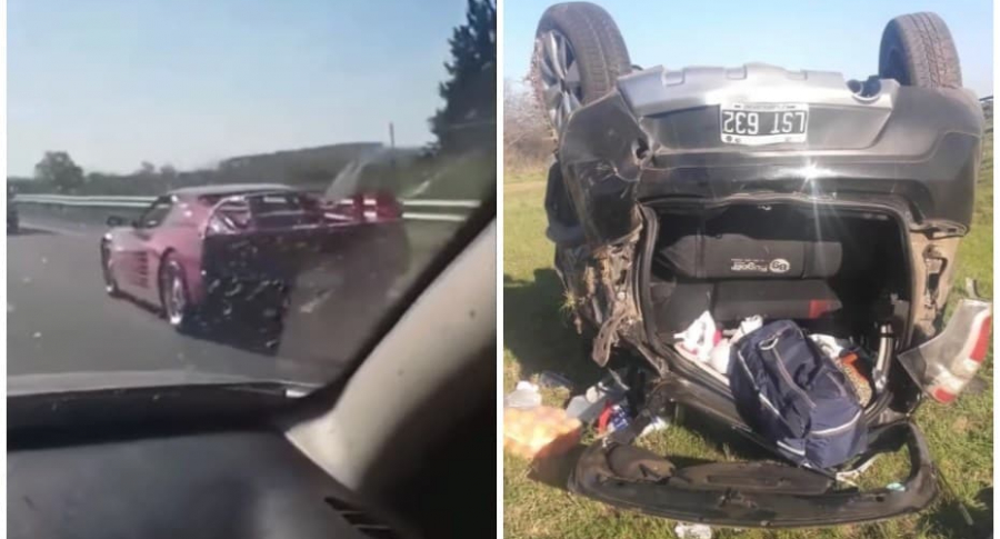 Accidente en Argentina.