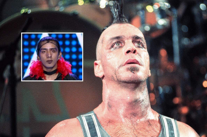 Till Lindemann, vocalista de Rammstein