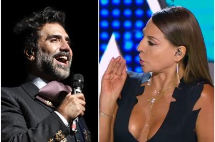 Alejandro Fernández y Amparo Grisales