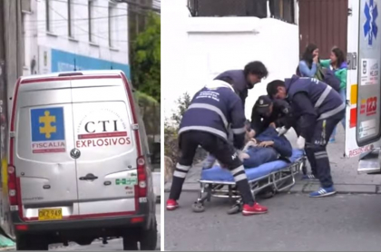 Estudiante herido por explosión