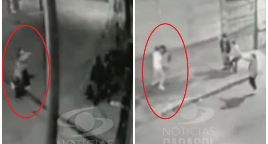 Presuntos ladrones venezolanos.