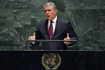 Iván Duque ante la ONU