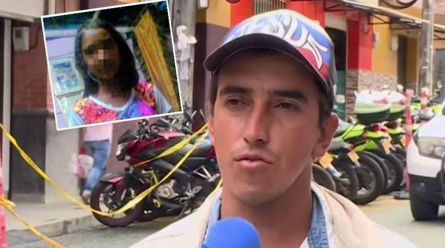 Niña muerta en Antioquia