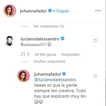 Comentarios post Johanna Fadull