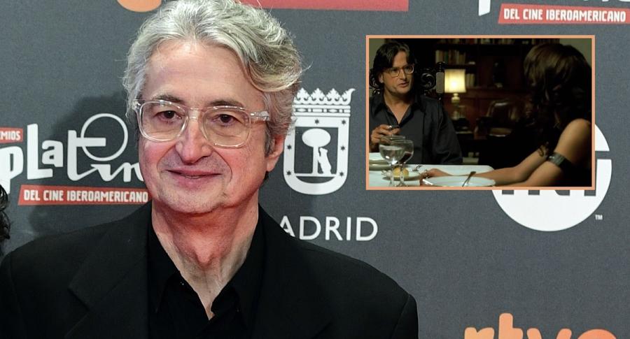 Luis Ospina, director y guionista; su hermano Sebastián Ospina, actor; y Flora Martínez, actriz.